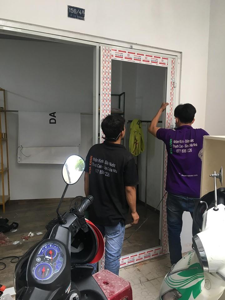 Cửa hàng nhôm kính tại Quy Nhơn - Bình Định 077 806 1226